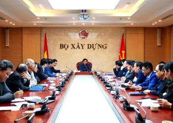 Thứ trưởng Lê Quang Hùng chủ trì cuộc họp Hội đồng Tư vấn hệ thống tiêu chuẩn, quy chuẩn kỹ thuật xây dựng