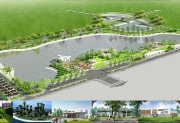 Điện chiếu sáng công viên Hồ Điều Hoà - Bắc Ninh